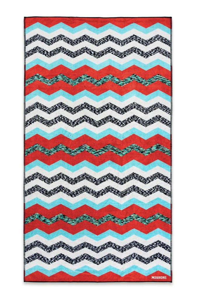 VICTOR BEACH TOWEL, Missoni