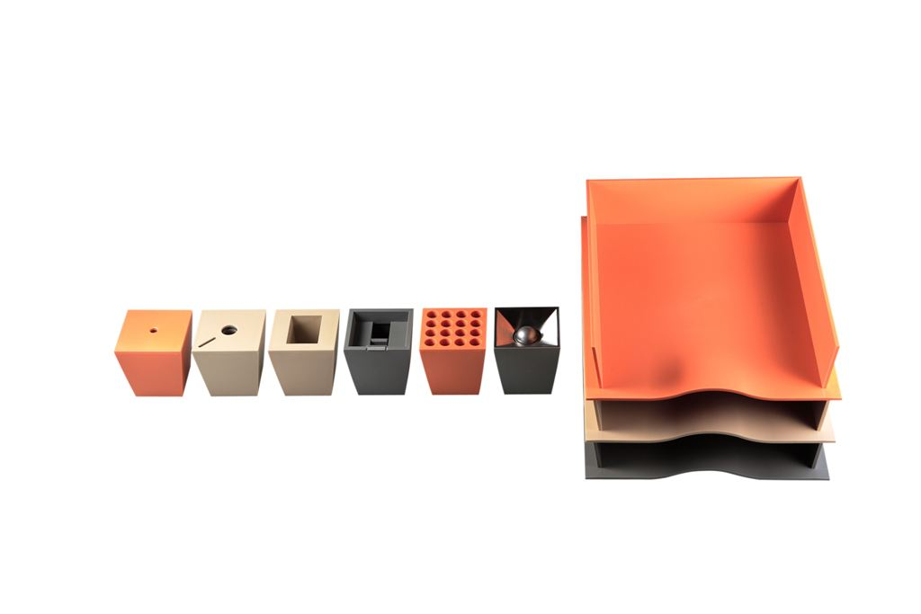 Box Office Desk Accessories,designed by  Christian Ghion for xO