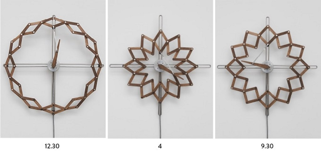 Solstice the Kinetic Clock Clock(prototypes) designed by Animarodesign