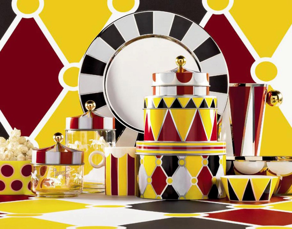 Collection Circus,designed by  Marcel  Wanders for Alessi