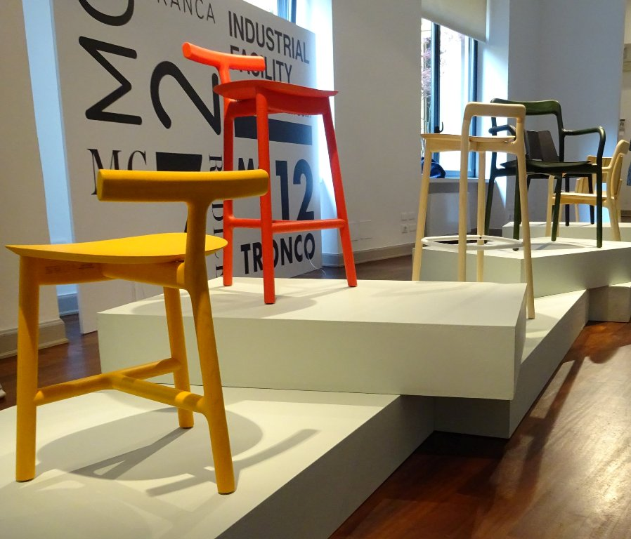 RADICE stool MC 7 designed by  Sam  Hecht  & Kim Colin  for Mattiazzi