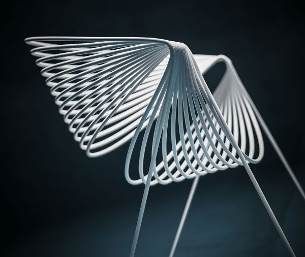 Filoferru chair; Designers: Robby Cantarutti and Partners; Manufacturer: Robby Cantarutti and Partners