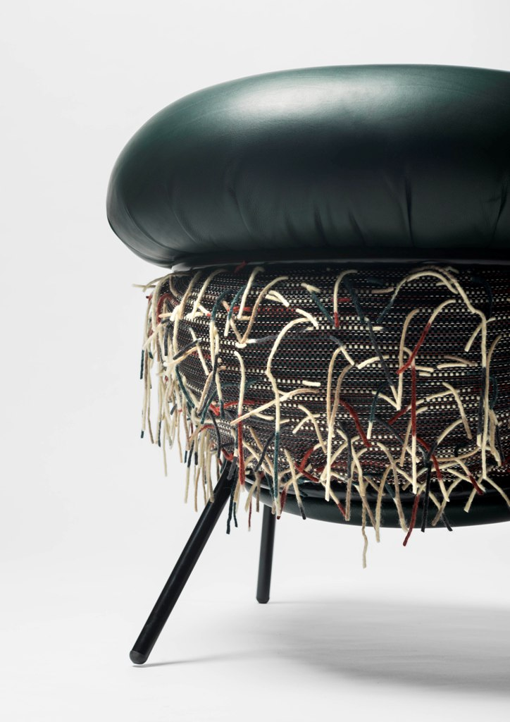 Armchair Grass designed by Stephen Burks, produced by BD Barcelona