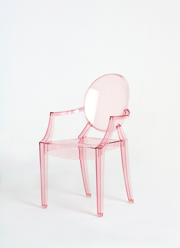 Chair Louis Ghost Designed by Philippe Starck for  Kartell