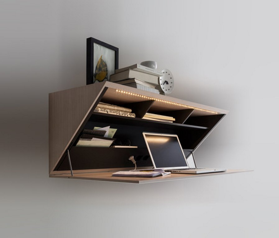 Functional Possibilities of the Wall Mounted Desks