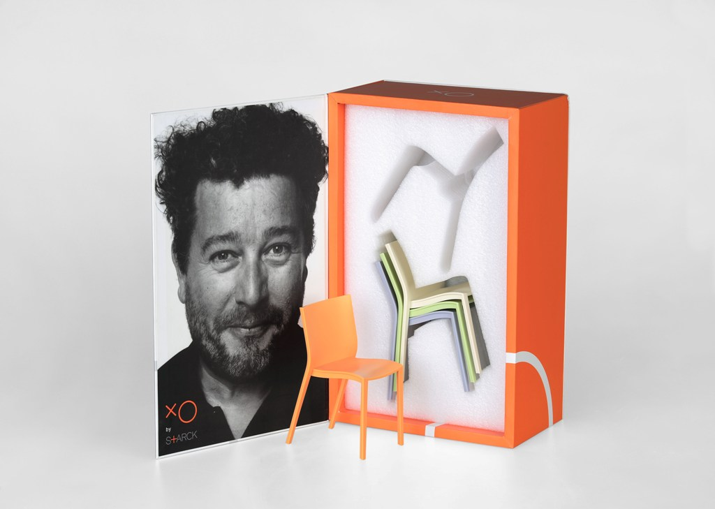 Chair  for doll Mini Slick Slick, designed by Philippe Starck for  xO
