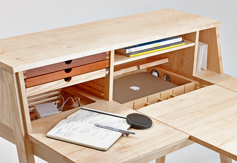 Secretary desk / dressing table Belle , design László Szikszai For Sixay Furniture Images courtesy Sixay Furniture