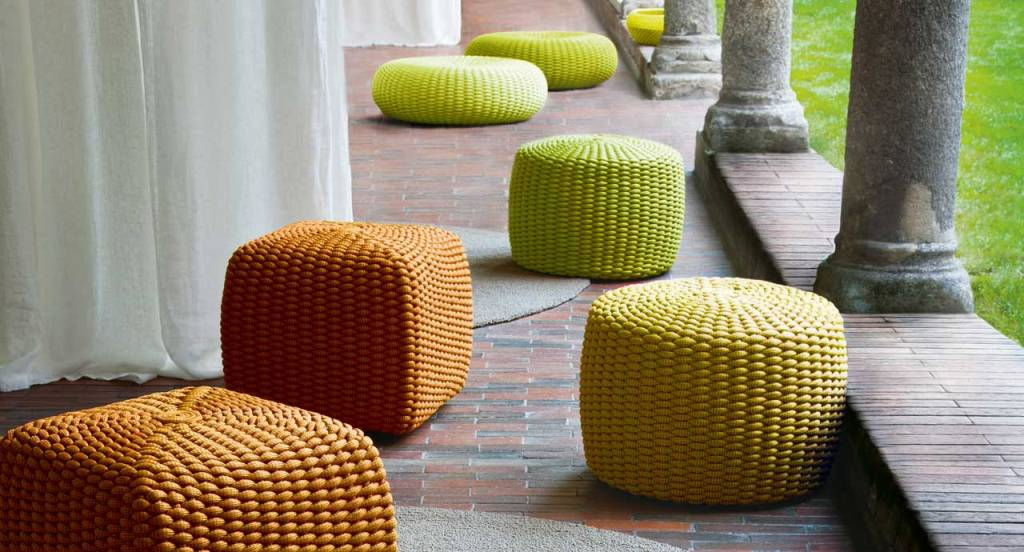 Tide, designed by  CRS Paola Lenti for Paola Lenti