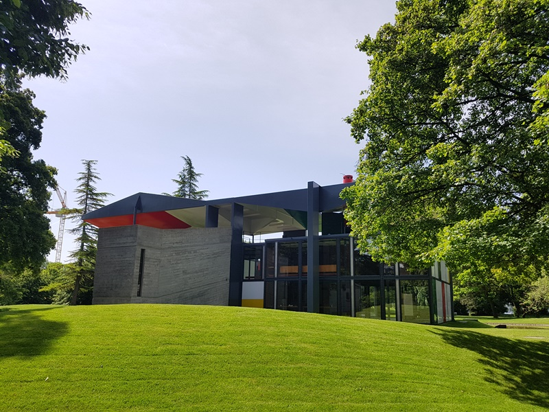 Pavillion Le Corbusier in Zürich,2019, view.Photo by MMS*