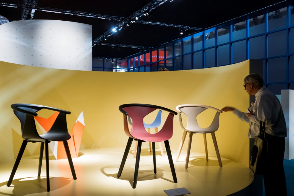 Stand Pedrali, Salone del Mobile.Milano, 2017 Images courtesy Salone del Mobile.Milano, Photo credits: Savero Lombardi Vallauri