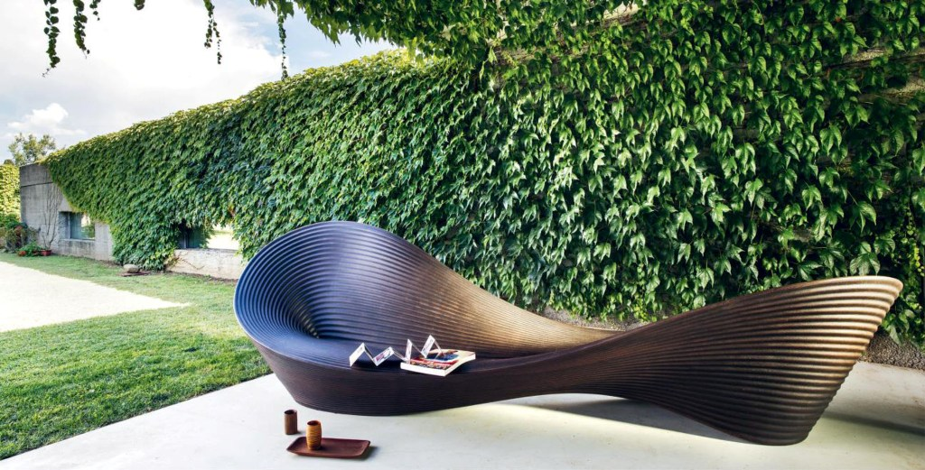 Bench Folly designed by Ron Arad for Magis