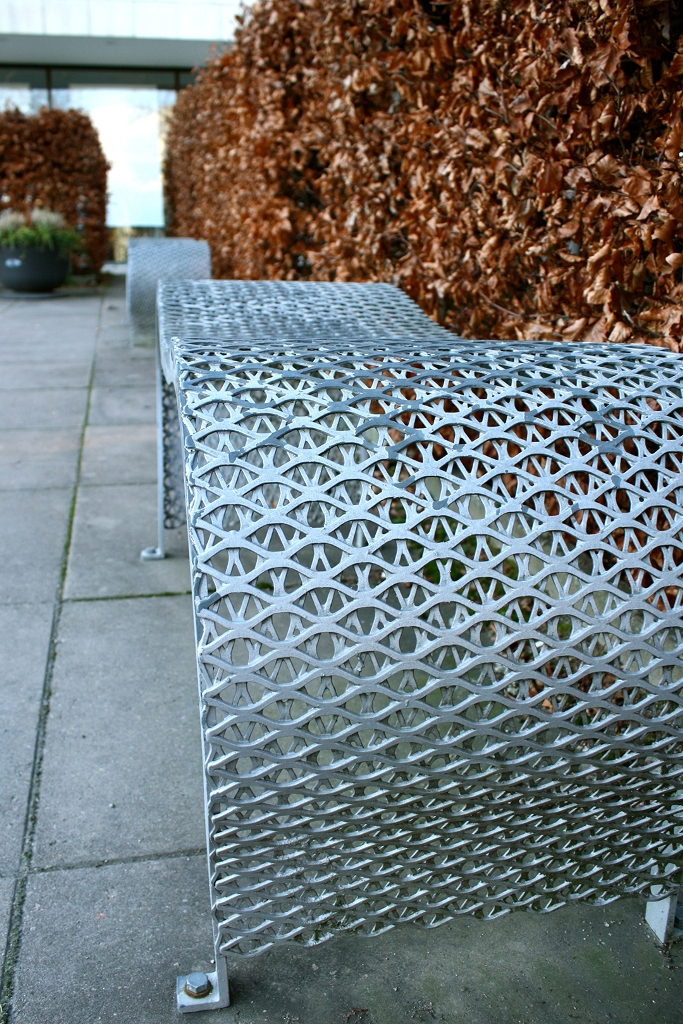 Moa bench designed by Gunilla Hedlund for Nola
