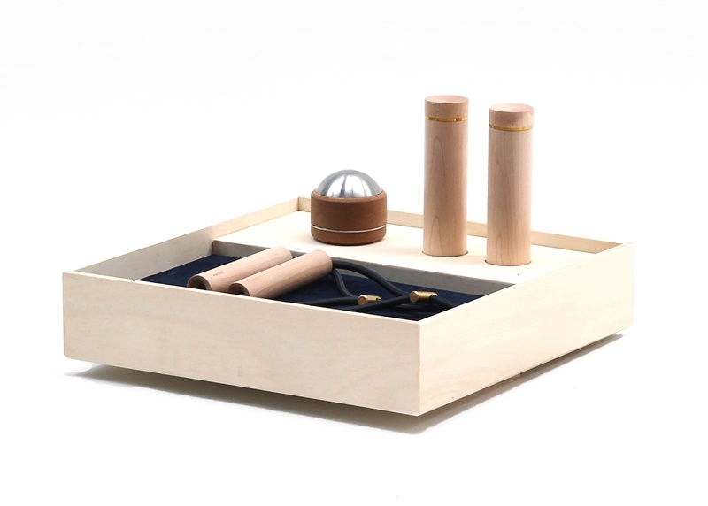 Set A1  the basic fitness devices designed by kenkō