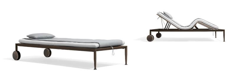 GEA   beach longer designed by CHI WING LO for Giorgetti