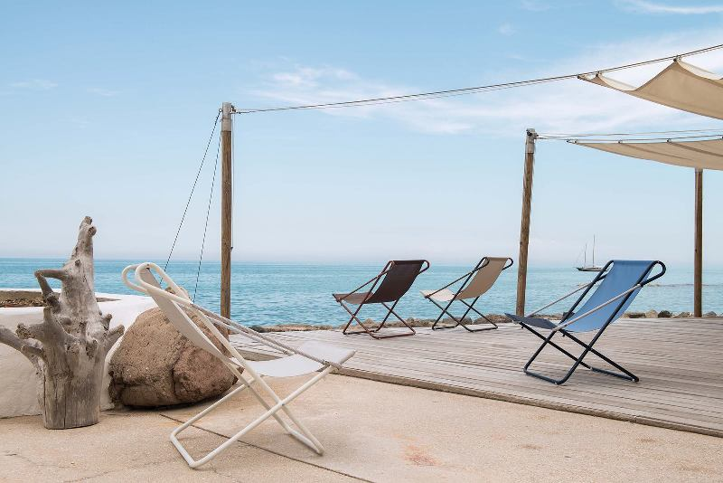Vetta deck chair from designed by Chiaramonte – Marin (Alfredo Chiaramonte and Marco Marin), for EMU