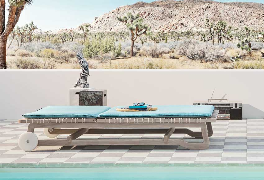 InOut 869 Day-bed from collection InOut designed by Paola Navone for Gervasoni