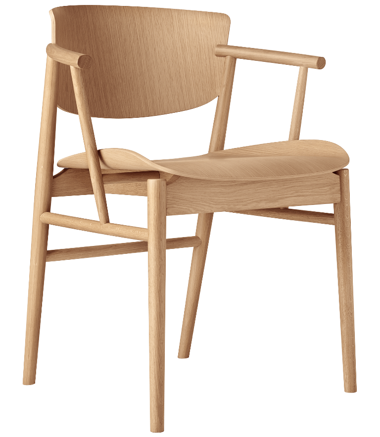 N01chair designed by Nendo for Friz Habsen (2018)