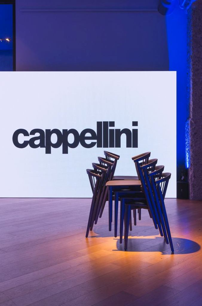 Newood chair designed by Brogliato Traverso Design studio ( Alberto Brogliato and Federico Traverso) for Cappellini ( 2018)