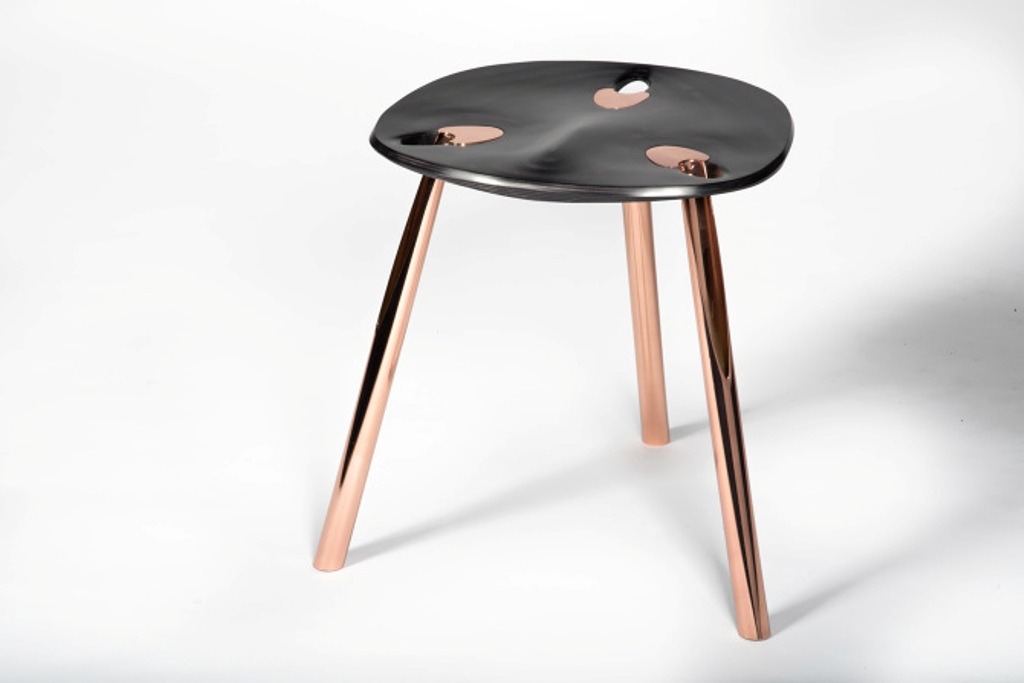The stool Sliced by  KALO (run by Ammar Kalo)