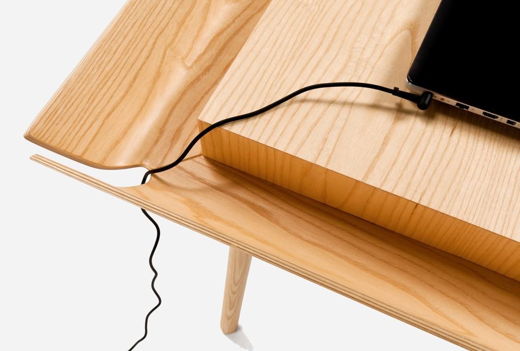 Trend Research: The New Way of WorkingMy Writing Desk, designed by Inesa Malafe for EMCO