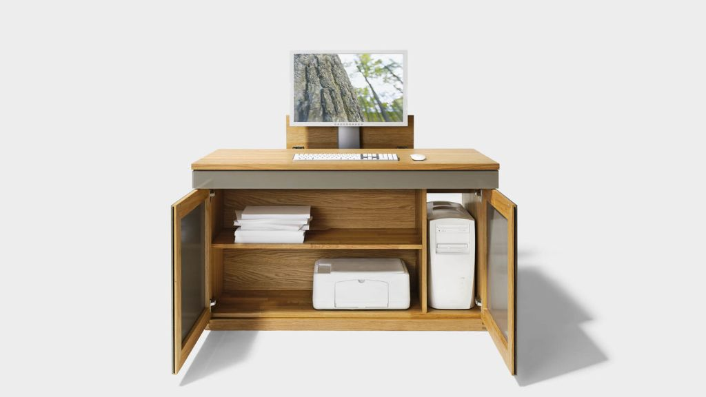 Cubus writing desk by TEAM 7  Images courtesy TEAM 7