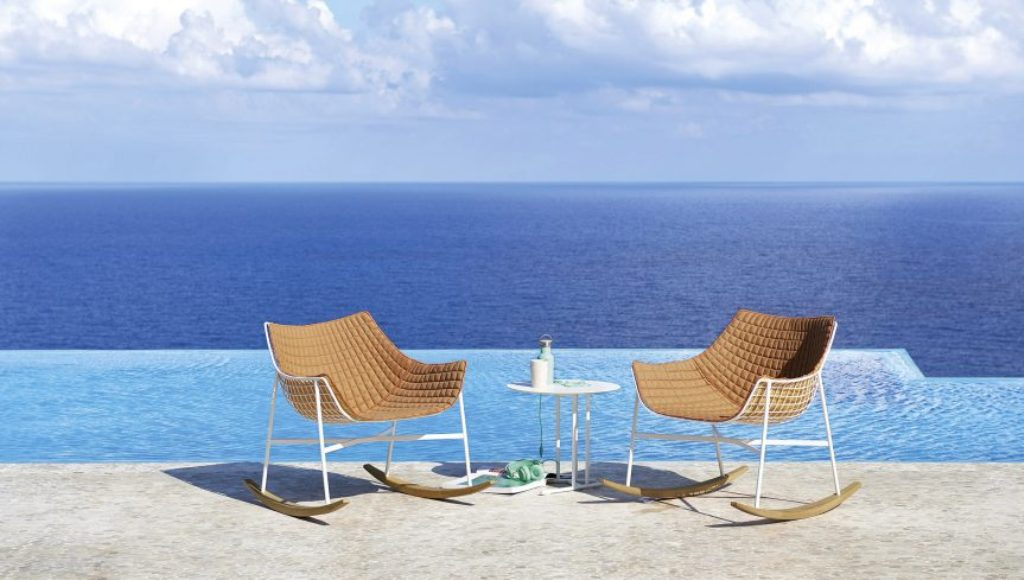 SUMMERSET chair designed by Christophe Pillet for Varaschin