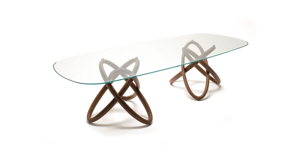 Carioca table, design Andrea Lucatello (2014)