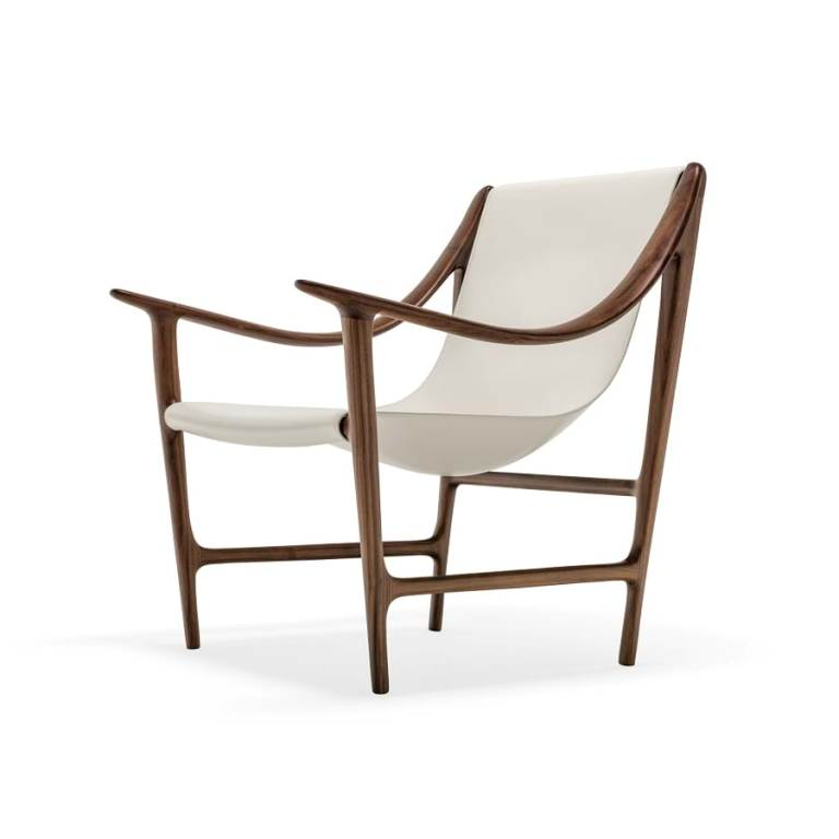 Swing armchair Swing, design Carlo Colombo (2015)
